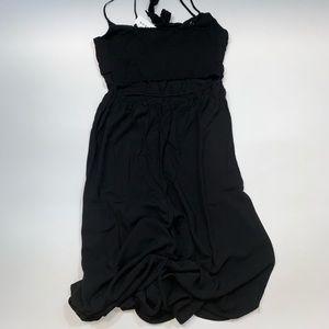 h.i.p. Pants - H.I.P black tie front jumpsuit